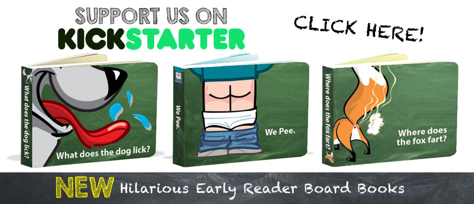 Kickstarter Early Reader Books