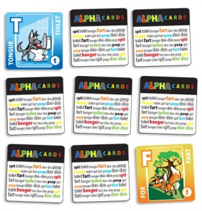 Alpha Cards: Matching Game