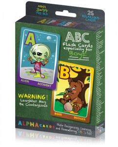 Alpha Cards: Alphabet Flash Cards